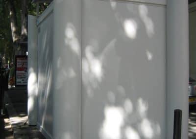 Bungalow anti-effraction bardé d'acier pour les arrêts de bus2