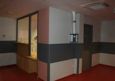 Accueil d'un bâtiment hospitalier (2)