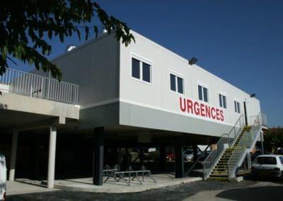 Bâtiment hospitalier