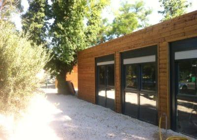 Ecole maternelle avec bardage bois